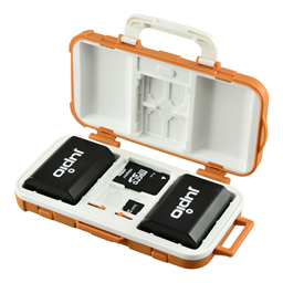 Afbeelding van Jupio BatMem Case for 2x Camera Battery + 14 Memory Cards