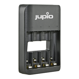 Afbeelding van Jupio USB 4-slots Battery Charger LED