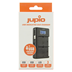 Afbeelding van Jupio USB Dedicated Duo Charger LCD for Canon LP-E17