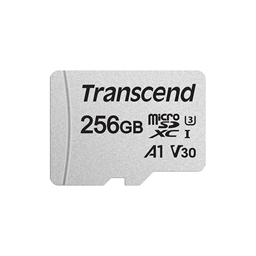 Afbeelding van Transcend 256GB micro SDXC Class 10 UHS-I U3 V30 A1 (R 95MB/s | W 45MB/s) (with adapter)