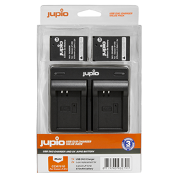 Afbeelding van 2x accu LP-E12 + USB Dual Charger (Value Pack)