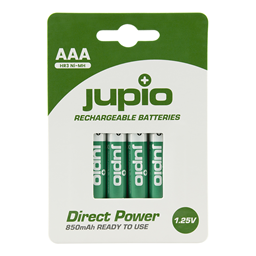 Afbeelding van Rechargeable Batteries AAA 850 mAh 4 pcs DIRECT POWER VPE-10