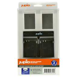 Afbeelding van Jupio Value Pack: 2x Battery BLN-1 / BLN1 + USB Dual Charger