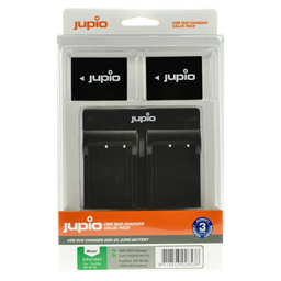 Afbeelding van Jupio Value Pack: 2x Battery NP-W126S + USB Dual Charger