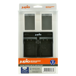 Afbeelding van Jupio Value Pack: 2x Battery PS-BLS5 / PS-BLS50 1210mAh + USB Dual Charger