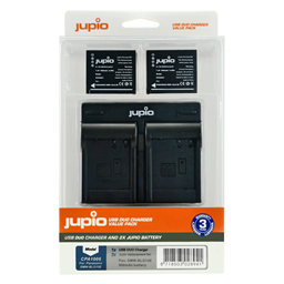 Afbeelding van Jupio Value Pack: 2x Battery DMW-BLG10 + USB Dual Charger